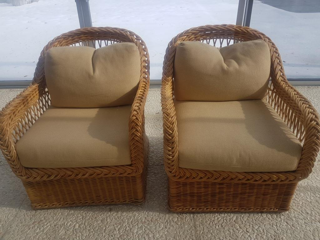 Outdoor Wicker Furniture Couches, Chairs, and