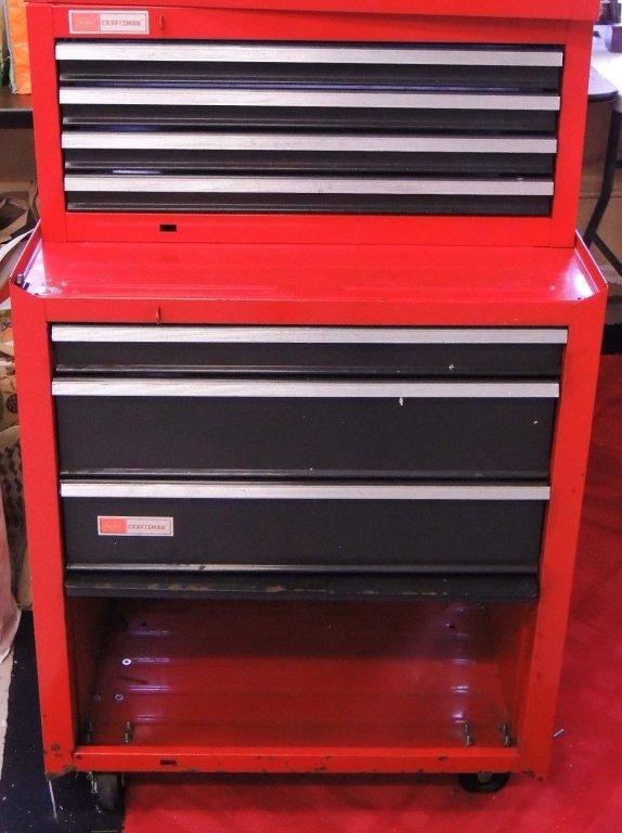 Craftsman 2 Piece Stacking Tool Chest