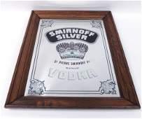 Smirnoff Silver Mirror  Absolut Tray