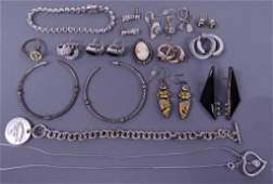 Sterling Jewelry Lot