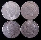 1932-s Peace silver dollars (4)