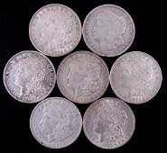 Morgan silver dollars (7)