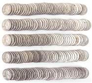 Washington silver quarters (200)