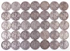1940's Walking Liberty Half Dollars (35)
