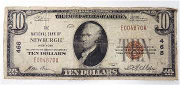 1929 U.S. National Currency $10 Bank Note