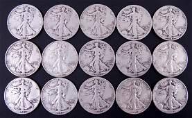 Walking Liberty Half Dollars (15)