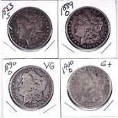 Morgan Silver Dollars (4)
