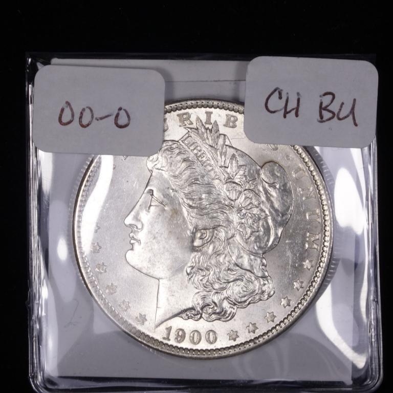 1900-o Morgan Silver Dollar (CH BU?)