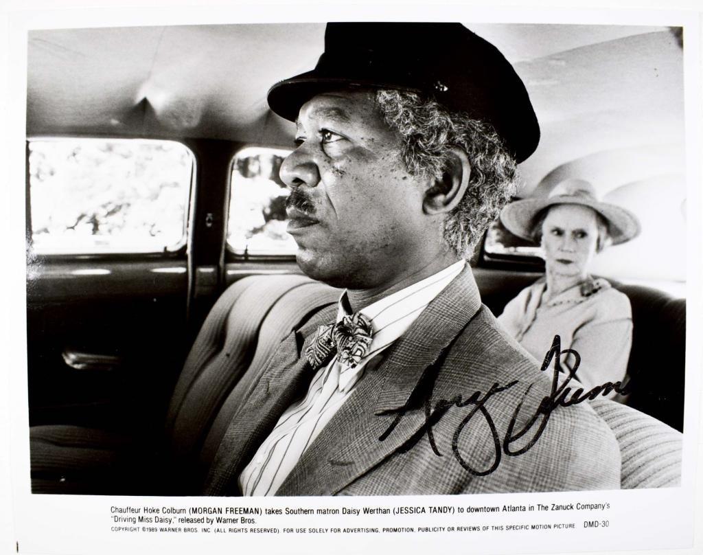 Autograph: Morgan Freeman