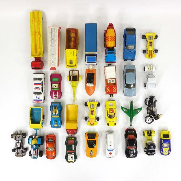 27 Vintage (70s and 80s) Matchbox Vehicles