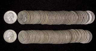 Washington Silver Quarters (84)