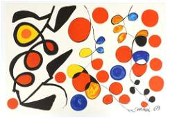 "Calder - ""Spring Carnival""  1969 Lithograph"