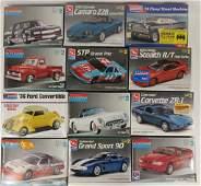12 Sealed Model Car Kits