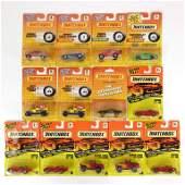 Assortment 13 of Vintage Die-Cast Matchbox Cars