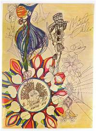 Jefferson Airplane Signed Poster