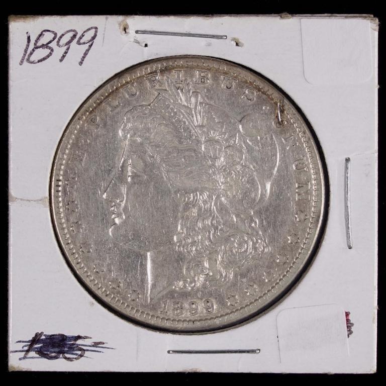 1899 Morgan Silver Dollar - KEY DATE