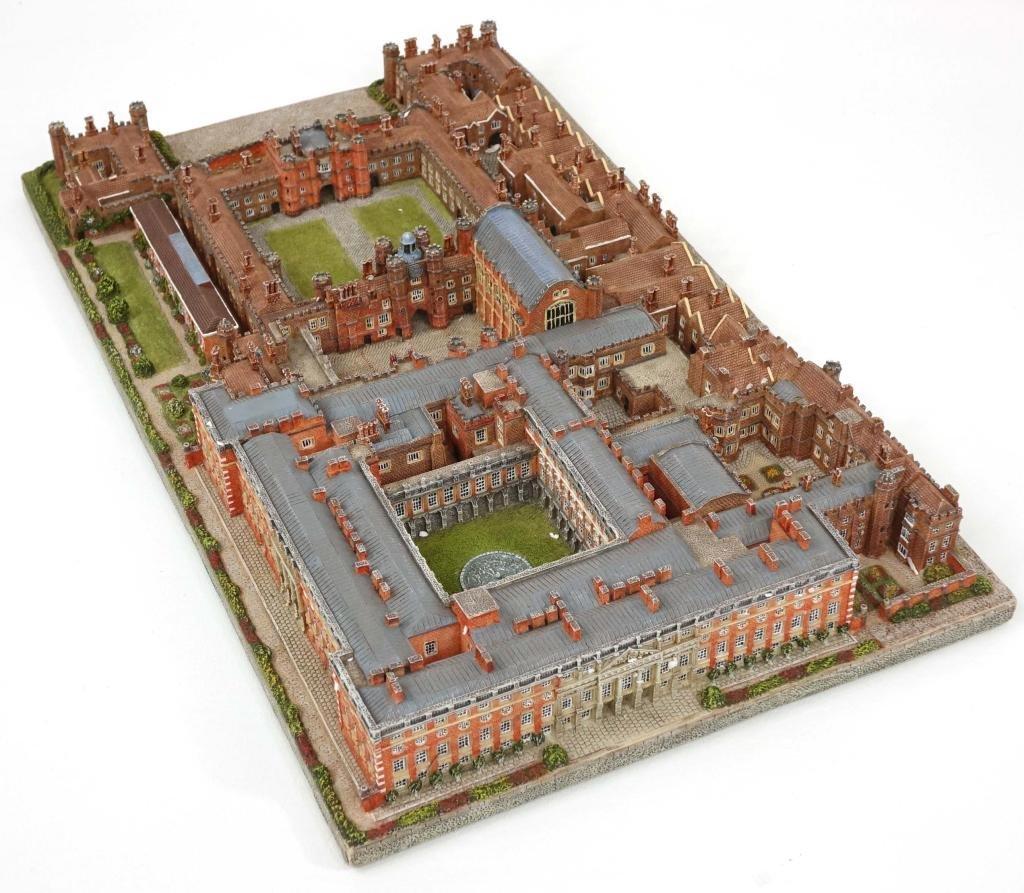 Danbury Mint Hampton Court, with COA