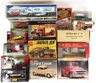Assortment of Die-cast & Model Kit Vehicles