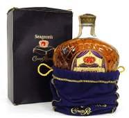 1955 Crown Royal Canadian Whisky Bottle