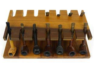 Vintage Pipes (With Stand)