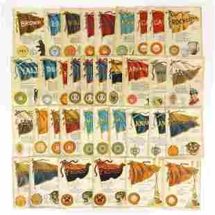 35 Tobacco College Silks