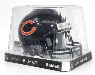 Steve McMichael Signed Mini Helmet