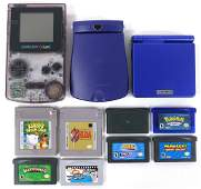 Nintendo Gameboy Color  SP With Games