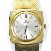 14k Gold Men's Omega Art Deco Watch