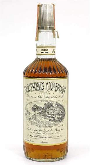 Southern Comfort Whiskey Bottle