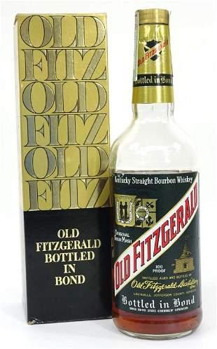 1977 Old Fitzgerald Bottled in Bond Whisky Bottle