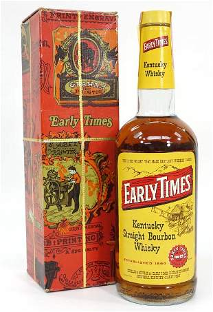 Early Times Bourbon Whisky in Box