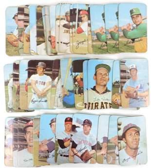 (40) 1971 Topps Super Baseball Cards