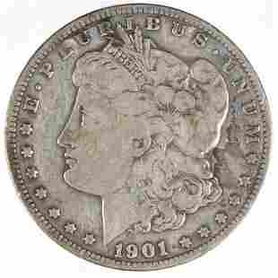 1901-s Morgan Silver Dollar (Tougher Date)