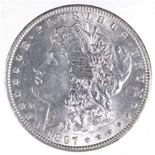 1897 Morgan Silver Dollar (BU?)