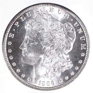1889 Morgan Silver Dollar (CH BU Clean Cheek?)
