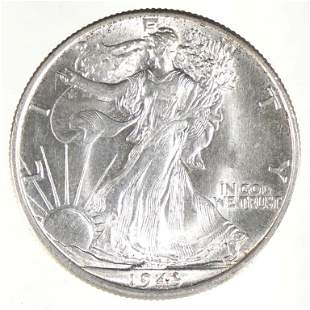 1943 Walking Liberty Half Dollar (Gem BU?)