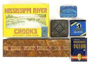 Vintage Cigar & Cigarette Cases (6)
