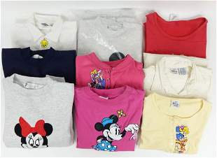 Disney (+1 Looney Toons) Clothing Lot