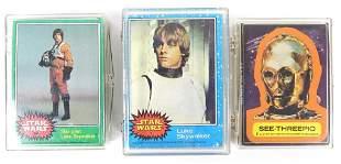 1977 Star Wars Topps Cards (Series I, III, IV & V)