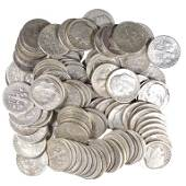 Roosevelt Silver Dimes (100)