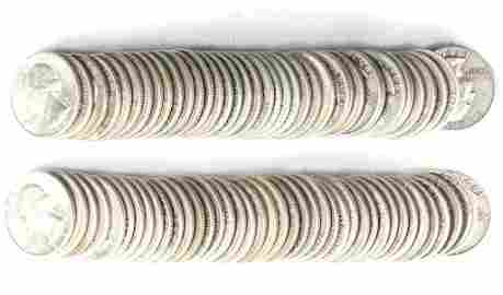 Washington Silver Quarters (80)