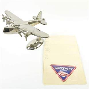 Vintage Airplane Luggage Decals (21)