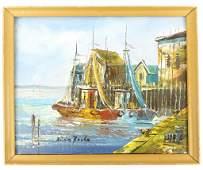 Brian Roche Oil Seascape