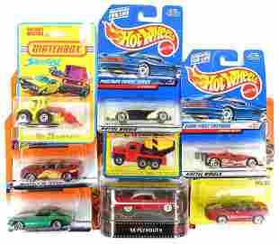 Die-Cast Toys (Hot Wheels & Matchbox) - Vintage