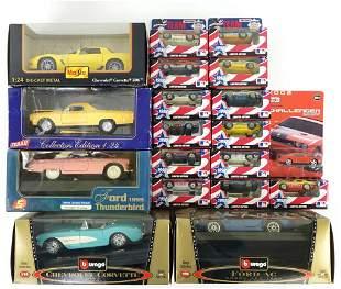Die-cast Vehicles -Matchbox, Maisto, Bburago (19)