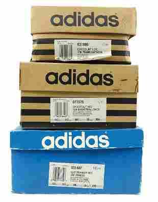 Mid 90s Adidas Basketball, Fitness & Tennis Shoes (3)