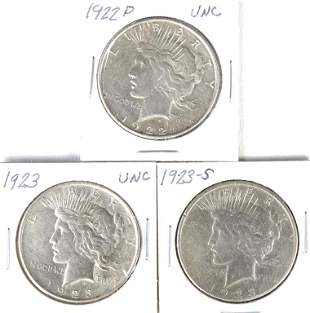Peace Dollars (3)