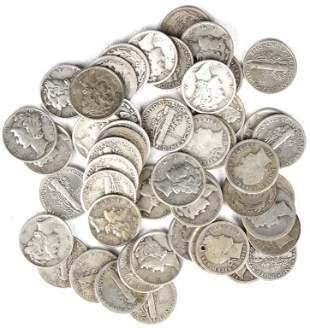 Silver Dimes (52)