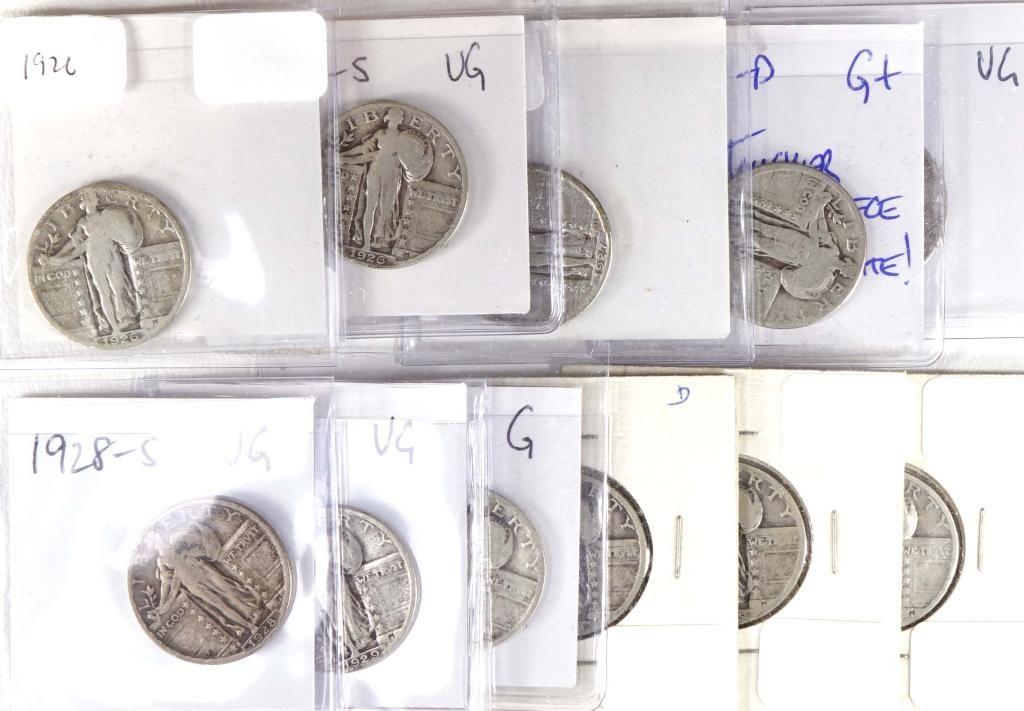 Standing Liberty Quarters (11)