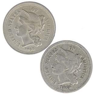 Three Cent Nickels (2)